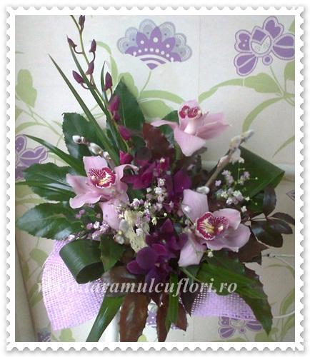 Aranjamente florale din orhidee.620